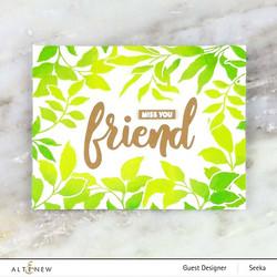 Altenew One Friend -leimasin