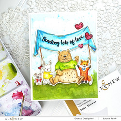 Altenew Baby Shower -leimasinsetti
