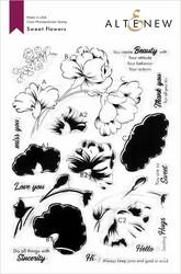 Altenew Sweet Flowers -leimasinsetti