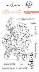 Altenew + Pinkfresh Studio Celebrate Today -leimasinsetti