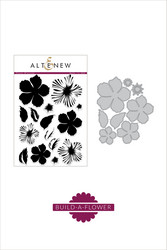 Altenew Build-A-Flower Peony Blossom stanssi- ja leimasinsetti