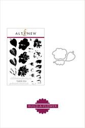 Altenew Build-A-Flower Hibiscus stanssi- ja leimasinsetti