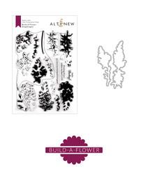 Altenew Build-A-Flower Snapdragon stanssi- ja leimasinsetti