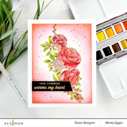 Altenew Paint-A-Flower: Rose -leimasinsetti