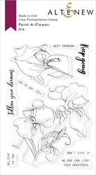 Altenew Paint-A-Flower: Iris -leimasinsetti