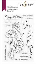 Altenew Paint-A-Flower: Carnations -leimasinsetti