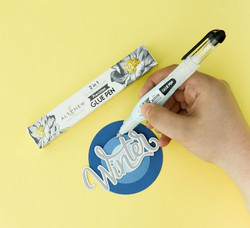 Altenew 2 in 1 Precision Glue Pen -liimakynä
