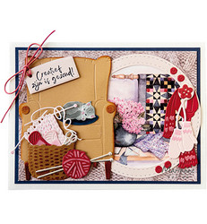 Marianne Design stanssisetti Wool Basket