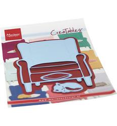 Marianne Design stanssisetti  Armchair & Kitten