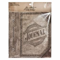 Tim Holtz Idea-Ology Large Worn Cover Journaler -kannet