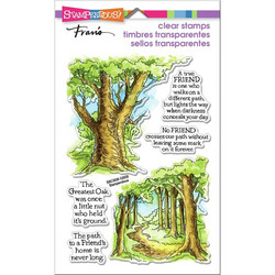 Stampendous leimasinsetti Forest Path