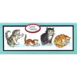 Stampendous leimasinsetti Kitty Mischief