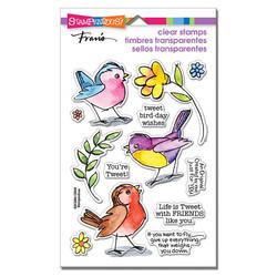 Stampendous leimasinsetti Sketchy Birds