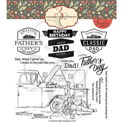 Colorado Craft Company Lovely Legs leimasinsetti Father & Son
