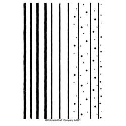 Colorado Craft Company Anita Jeram leimasinsetti Stripes & Dots Background