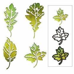 Sizzix Tim Holtz Thinlits stanssisetti Leaf Print