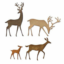 Sizzix Tim Holtz Thinlits stanssisetti Darling Deer