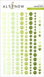 Altenew Tropical Forest Enamel Dots -tarrat