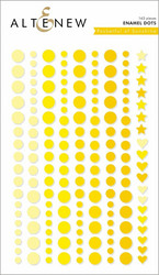 Altenew Pocketful of Sunshine Enamel Dots -tarrat