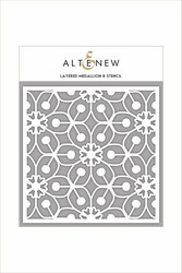 Altenew Layered Medallion B -sapluuna
