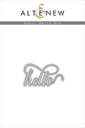 Altenew Fancy Hello -stanssi