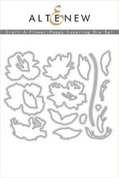 Altenew Craft-A-Flower: Poppy -stanssisetti