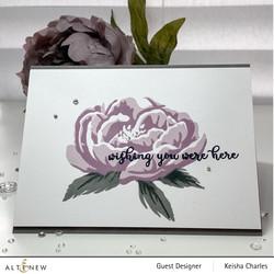 Altenew Build-A-Flower Peony stanssi- ja leimasinsetti