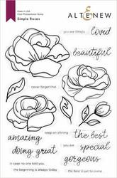 Altenew Simple Roses -leimasinsetti