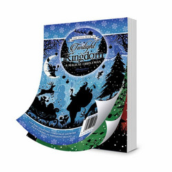 Hunkydory Twilight Kingdom, A Magical Christmas -korttikuvat