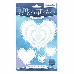 Hunkydory stanssisetti Lace Hearts