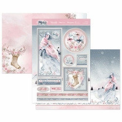 Hunkydory Winter Forest Luxury Topper -pakkaus, Festive Enchantment