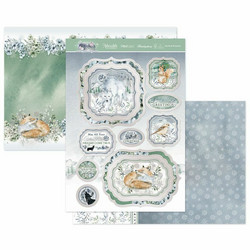 Hunkydory Winter Forest Luxury Topper -pakkaus, Mystical Moments