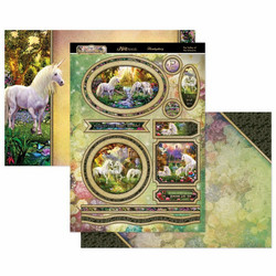 Hunkydory Land of Enchantment Luxury Topper -pakkaus, The Valley of the Unicorns