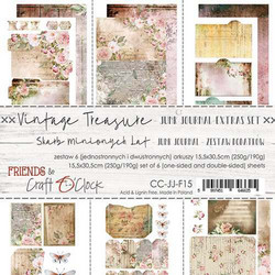 Craft O'clock paperipakkaus Vintage Treasure Junk Journal Extras