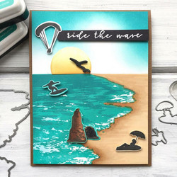 Hero Arts leimasinsetti Beach HeroScape
