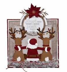 Joy! crafts Mon Ami Santa -stanssisetti