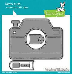 Lawn Fawn stanssisetti Magic Iris Camera Add-On