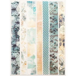 49 and Market Washi Strips, Wedgewood