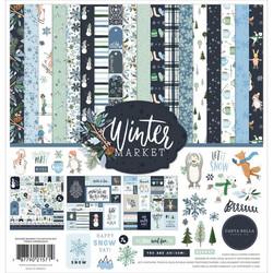 Carta Bella Winter Market -paperipakkaus, 12