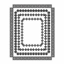 Spellbinders leimasinsetti Rectangle Radiance