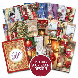 Hunkydory Topper Decks -korttikuvat Home For Christmas