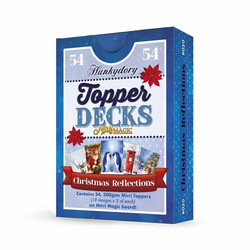 Hunkydory Mirri Magic Topper Decks -korttikuvat Christmas Reflections
