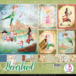 Ciao Bella Limited Edition paperipakkaus Neverland 12