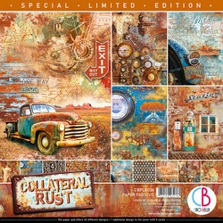Ciao Bella Limited Edition paperipakkaus Collateral Rust 12