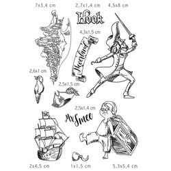 Ciao Bella leimasinsetti Neverland, Hook & Mr Smee