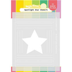Waffle Flower sapluuna Spotlight Star