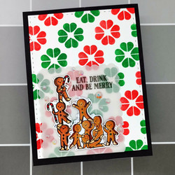 LDRS Creative leimasinsetti Gingerbread Kisses