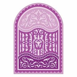 Heartfelt Creations Scalloped Flourish Gateway -stanssisetti