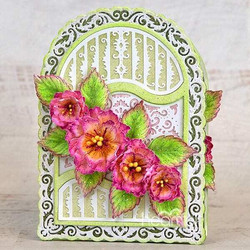 Heartfelt Creations Ornate Flourish Gateway -stanssisetti