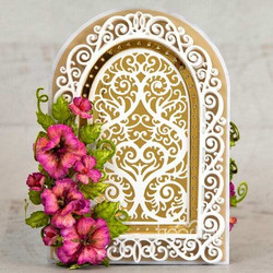 Heartfelt Creations Elegant Swirl Gateway -stanssisetti